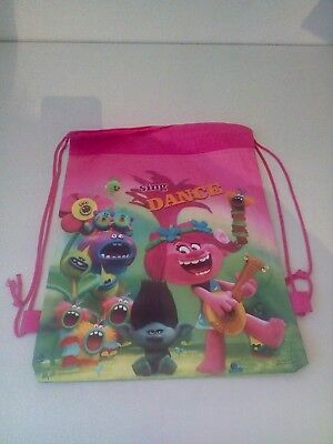Selling Pink Trolls Drawstring Bags all Brand New + Free Postage