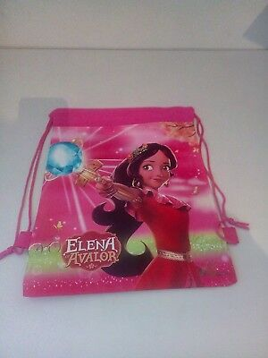 Selling Pink Elena of Avalor Drawstring Bags - Brand New + Free Postage