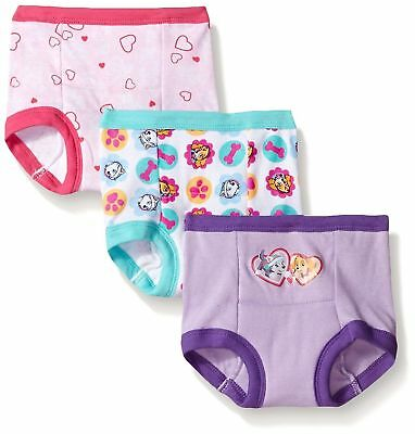 Nickelodeon Toddler Girls Paw Patrol Girl 3pk Training Pant-Assorted-Size 2T NIP