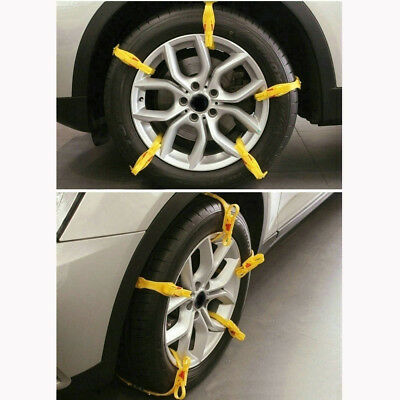 10pc Reusable Car/SUV/Truck Snow Tire Tyre Chain Safety Antiskid Chains Sale