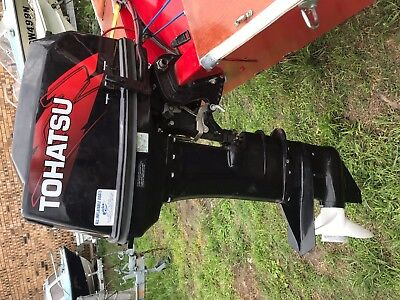 40HP Tohatsu long shaft outboard motor, in fantastic condition. not much use.