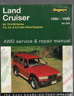 Toyota Land Cruiser (Petrol) 1980 Thru 1998 Service, Repair Workshop Manual