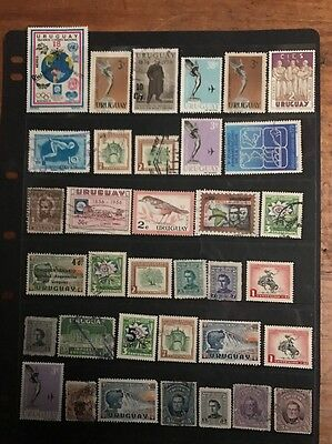 stamps Uruguay - MH and Used  - Lot 640