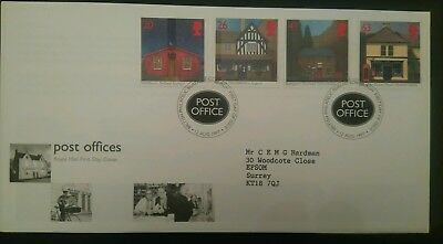 Great Britain Stamps 1997 FDC Sub Post offices