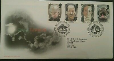 Great Britain Stamps 1997 FDC Horror stories