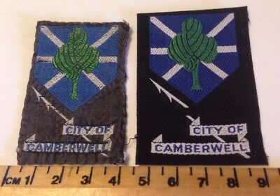 2 Varieties Of City Of Camberwell (Vic) Boy Scout Badges