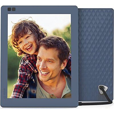 Digital Picture Frame Nixplay Seed 10 Inch WiFi Cloud Photo IPS Display Blue NEW