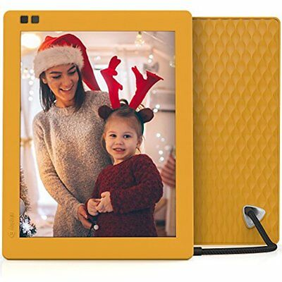 Digital Picture Frame Nixplay Seed 10 Inch WiFi Cloud Photo IPS Display Mango