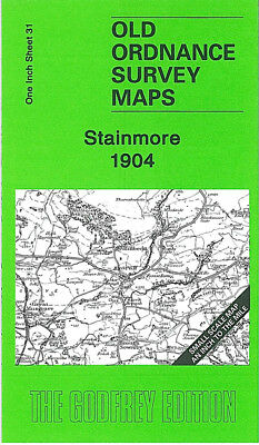 Old Ordnance Survey Map Stainmore 1904 Brough Middleton In Teesdale Mickleton