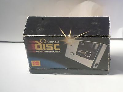 Vintage 1980's Kodak Disc 4000 Camera WITH Box  untested