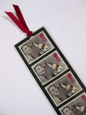 Bookmark Made With Collectable Muffin The Mule Stamps.1996. Stocking Filler