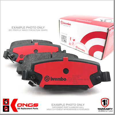 Front Brembo Brake Pads for RENAULT CLIO SPORT 2.0 WITH ABS