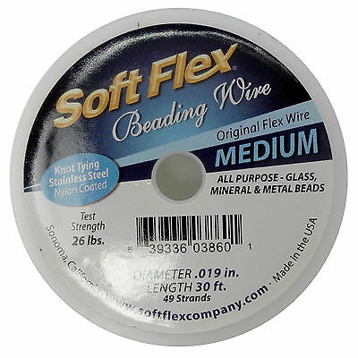 Soft Flex Kabel .019 Länge 30 Meter, 49 Stränge, 0.45mm - ft452