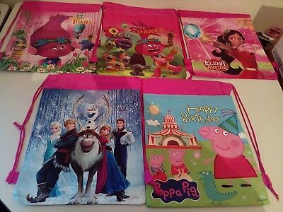 5 Girls - Drawstring Bags - All Brand New &+ Free Postage