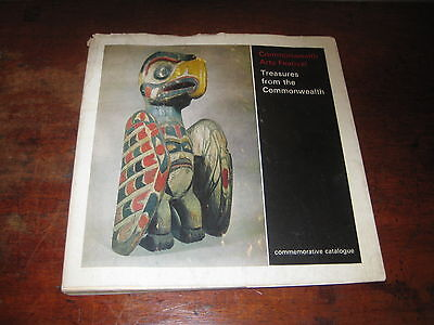 Treasures From The Commonweath Book Catalogue Tribal Oriental Art + 1965