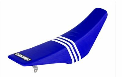 Ribbed Gripper Seat Cover to fit KTM SX 65 2016 - 2019 Blue TLD Motocross