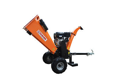 NEW 18HP 420CC Wood Chipper Mulcher Garden Shredder Commercial Mulch Tool Chip