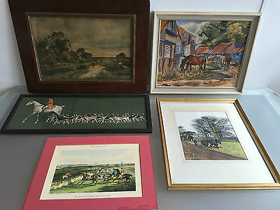 Country Lot Of 5 - Hunting / Traditional British Countryside - Vr