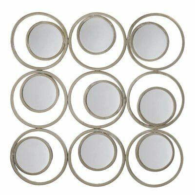 Living Room Wall Mirror, Revolution Decorative Round Metal Wall Mirror,  Iron