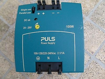 PULS ML100 rail mounted Power Supply