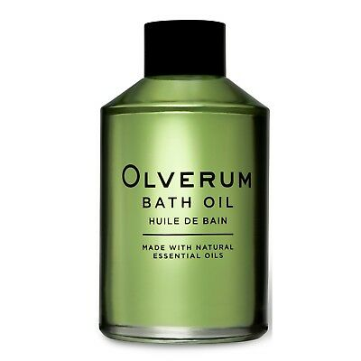 Olverum - Bath Oil - Made with Natural Essential Oils - 125ml