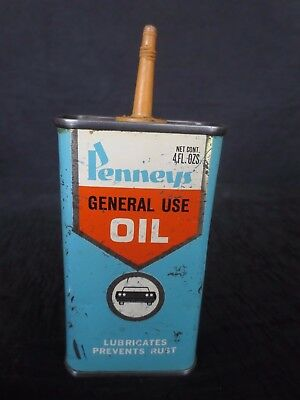 Vintage Penney's General Use Oil Can, Good Condition