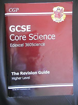 Paperback GCSE Core Science Edexcel 360: Higher: Science Revision Guide   F11