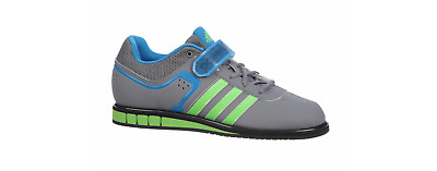 cf8e0c82bab3 Adidas Powerlift 2 Trainer - Men's Power Lifting Shoes - Grey Green Blue  M18769