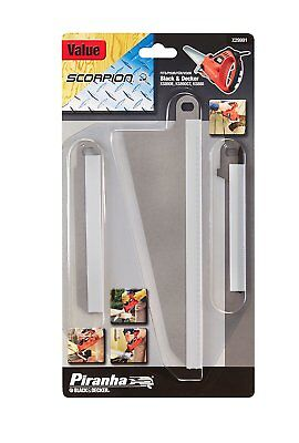 Replacement blades Black and Decker Piranha Scorpion kit KS890E/KS890GT/KS880 x3