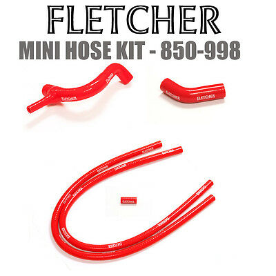CLASSIC MINI 850/1000/1100 -1990 SILICONE  HOSE KIT RED X3018c/f/i/o