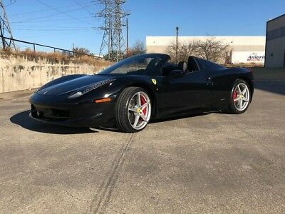 2014 Ferrari 458 Base Convertible 2-Door 2014 FERRARI 458 SPIDER, TONS OF CARBON, 20S, REAR CAM, 2,700 MILES, BIG MSRP!