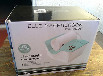New Elle Macpherson Sensilight Hair Removal IPL System