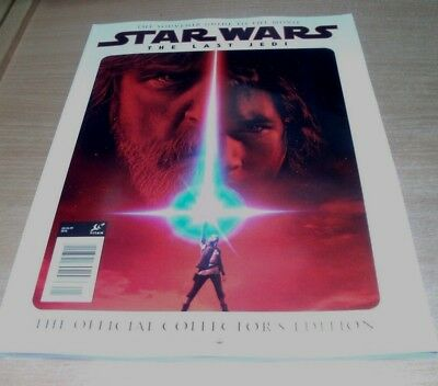 Star Wars The Last Jedi magazine Movie Souvenir The Official Collector's Edition