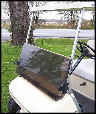 RecPro™ Yamaha G14/G19 TINTED golf cart Windshield with Folding Acrylic