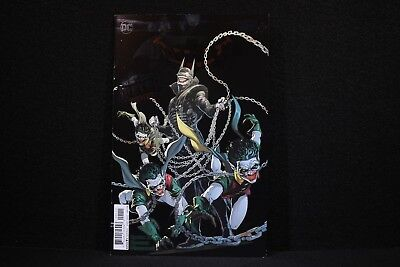 The Batman Who Laughs:  #1, Fabok & Anderson Foil-Stamped Cover, DC Comics
