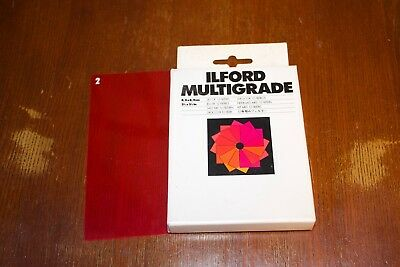Ilford Multigrade - Set of 12 filters - 3.5 X 3.5 in. - one misfit