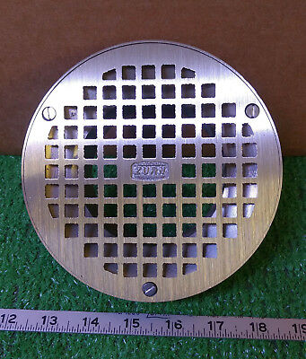 """1 New Zurn Zzn4006B 6"""" Round Strainer With Square Open ***make Offer***"""