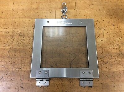 Terra Universal Pass Through Chamber Door With Loop Latch, Used