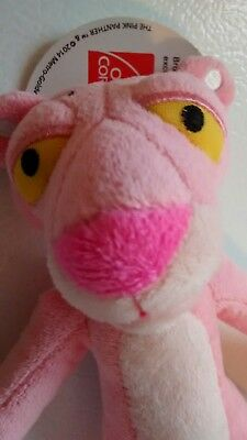"""NWT 11"""" High Owens Corning Plush PINK PANTHER Girl Boy Collector Toy Soft stuff"""