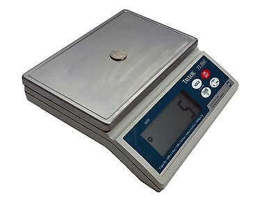 Taylor Precision TE10R 10lb Digital Battery Powered Scale Stainless Platform