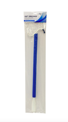"Blue Jay 2-In-1 Long Handle Get Dressed Dressing Aid 24"" with Shoehorn Aid."