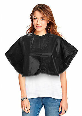 Dmi Black Essentials Pvc Shoulder Cape Tinting Cutting Colouring For Salons