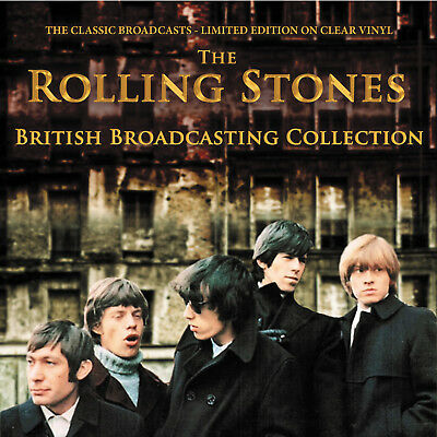 The Rolling Stones - British Broadcasting Collection: Ltd Edition Clear Vinyl
