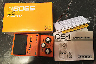 Boss DS 1 DS-1 Distortion Pedal