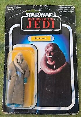 NEW 1983 Star Wars ROTJ - Bib Fortuna - Palitoy - UNOPENED Carded VGC Free Post