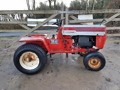 LawnFlite ride on Tractor Briggs & Stratton Twin 18 HP engine, spares or repair