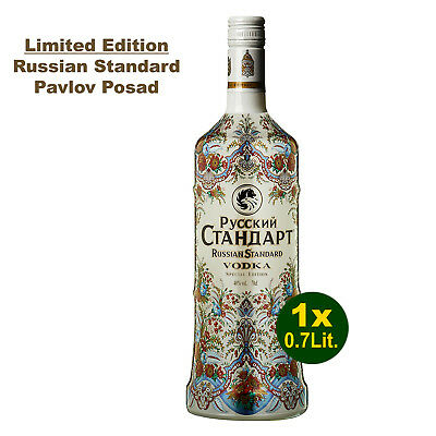 Russian Standard Pavlov Posad Limited Edition Vodka 70cl - Russia's No1 Wodka