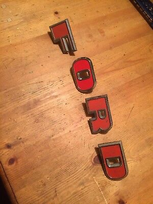 Ford 4000 5000 7000 tractor force top grill Letters