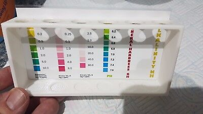 Nt Labs Test Kit Holder Freshwater Kit For Ph Gh Kh Nitrate Nitrite 3D Printed