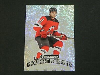 2017-18 Parkhurst Prominent Prospects PP-24 Will Butcher New Jersey Devils